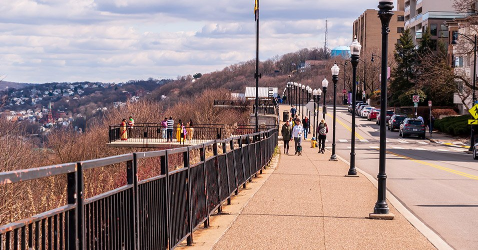 Grandview Avenue Overlook and Sidewalk Reconstruction