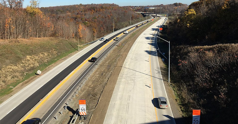 SR 0376 Sections A50 and A56 (Parkway West)